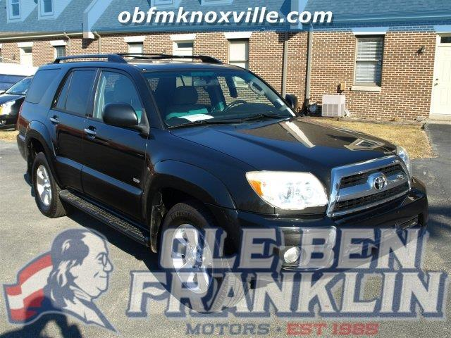 2006 TOYOTA 4RUNNER SR5 SPORT galactic gray mica scores 22 highway mpg and 18 city mpg this toyo