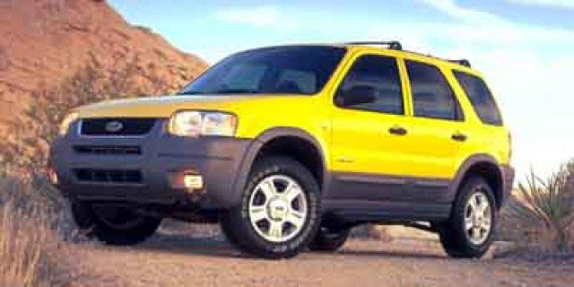 2001 FORD ESCAPE XLT 4WD 4DR SUV chrome yellow boasts 24 highway mpg and 18 city mpg this ford e