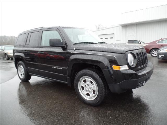 2012 JEEP PATRIOT SPORT 4DR SUV black roll stability controlstability controlabs brakes 4-whee
