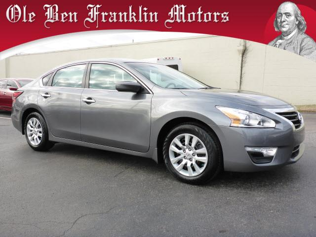 2015 NISSAN ALTIMA 25 S 4DR SEDAN gray stability control electroniccrumple zones front and rear