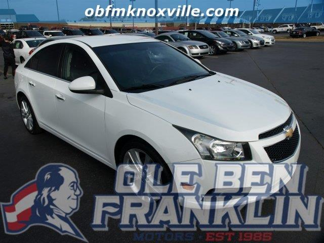 2012 CHEVROLET CRUZE LTZ 4DR SEDAN W1LZ summit white delivers 38 highway mpg and 26 city mpg th