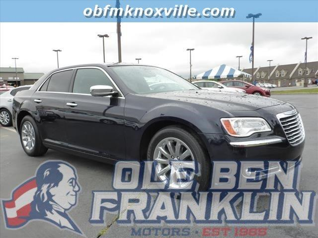 2012 CHRYSLER 300 LIMITED 4DR SEDAN blue only 33732 miles delivers 31 highway mpg and 19 city m