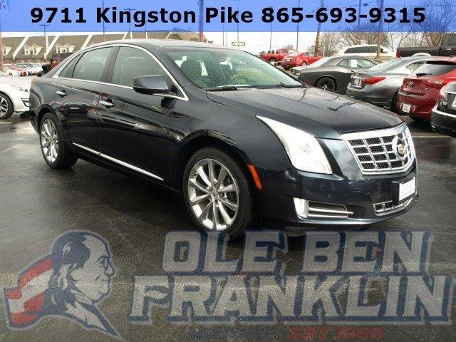 2014 CADILLAC XTS LUXURY COLLECTION AWD 4DR SEDAN blue boasts 26 highway mpg and 17 city mpg thi