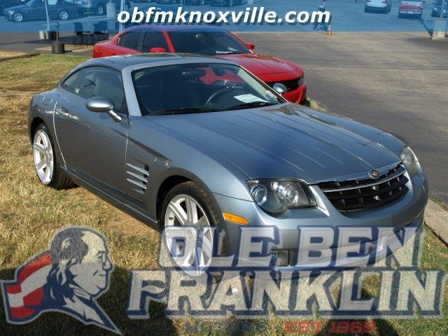 2004 CHRYSLER CROSSFIRE BASE 2DR SPORTS COUPE sapphire silver blue met only 39670 miles boasts
