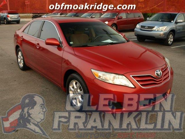 2011 TOYOTA CAMRY red scores 33 highway mpg and 22 city mpg this toyota camry delivers a gas i4