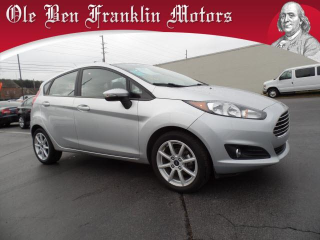 2015 FORD FIESTA SE 4DR HATCHBACK silver impact sensor post-collision safety systemmulti-functio