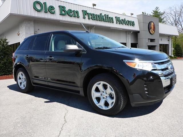 2012 FORD EDGE SE 4DR SUV black scores 30 highway mpg and 21 city mpg this ford edge delivers a
