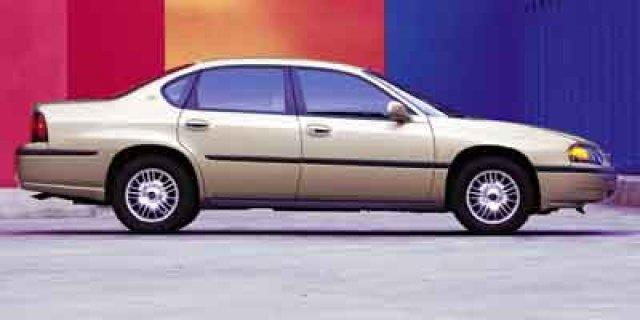 2001 CHEVROLET IMPALA BASE 4DR SEDAN unspecified scores 32 highway mpg and 21 city mpg this chev
