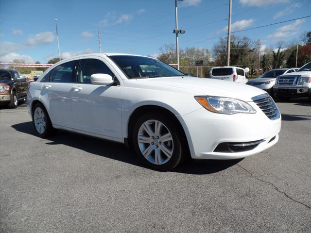 2013 CHRYSLER 200 LX 4DR SEDAN white impact sensor post-collision safety systemsecurity remote a