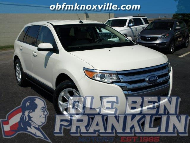 2013 FORD EDGE SEL 4DR SUV white suede scores 30 highway mpg and 21 city mpg this ford edge deli