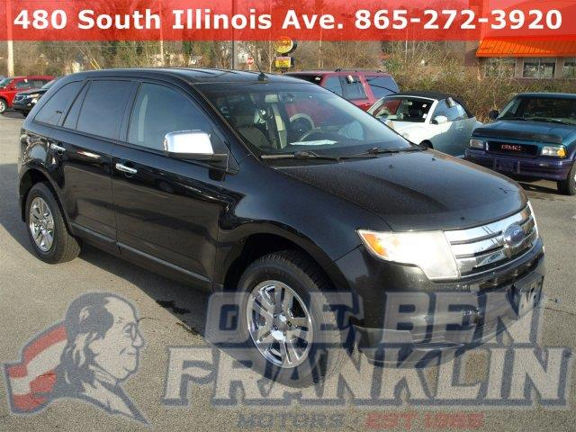 2010 FORD EDGE SE 4DR SUV black delivers 25 highway mpg and 18 city mpg this ford edge delivers