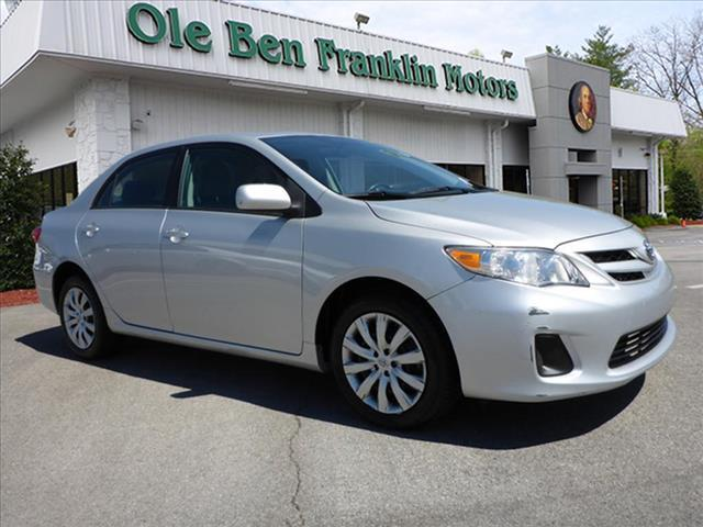 2012 TOYOTA COROLLA LE 4DR SEDAN 4A silver mpgs   first time buyer  low miles   no credit