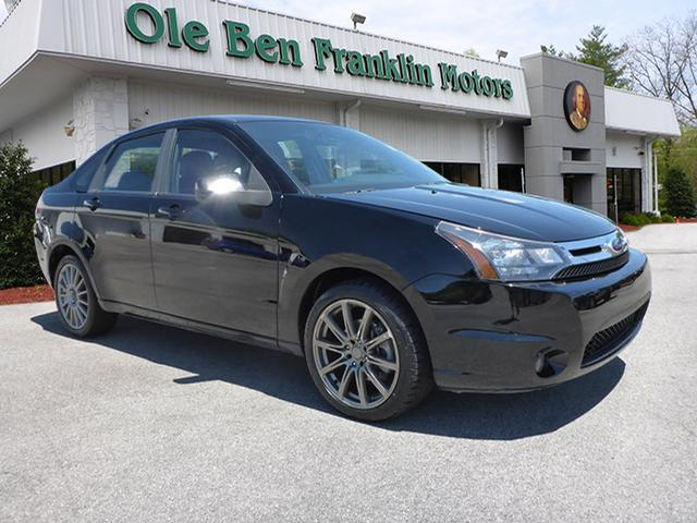 2010 FORD FOCUS SES 4DR SEDAN black stability control electronicphone hands freesecurity anti-t