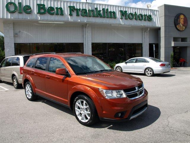 2014 DODGE JOURNEY SXT AWD 4DR SUV copperhead pearlcoat scores 24 highway mpg and 16 city mpg th