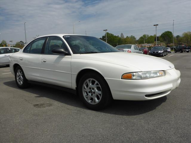 2001 OLDSMOBILE INTRIGUE GX 4DR SEDAN off white security anti-theft alarm systemabs brakes 4-wh