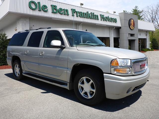 2006 gmc yukon xl awd denali 4dr suv in knoxville tn ole for Ole ben franklin motors knoxville