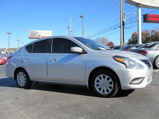 2015 NISSAN VERSA 16 SV 4DR SEDAN silver crumple zones front and rearhands-free communication s