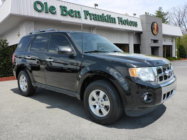 2012 FORD ESCAPE LIMITED 4DR SUV black impact sensor post-collision safety systemroll stability