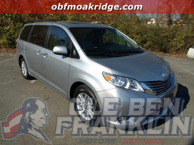 2016 TOYOTA SIENNA XLE AAS W LEATHER SUNROOF POW silver sky metallic delivers 25 highway mpg a