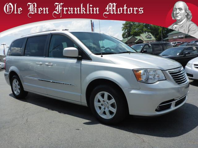 2012 CHRYSLER TOWN AND COUNTRY TOURING 4DR MINI VAN silver impact sensor fuel cut-offimpact sens