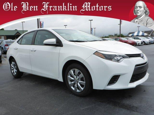 2015 TOYOTA COROLLA L 4DR SEDAN 4A super white boasts 36 highway mpg and 27 city mpg this toyota