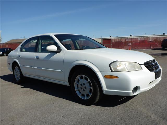 2000 NISSAN MAXIMA GXE 4DR SEDAN off white security anti-theft alarm systemabs brakes 4-wheel
