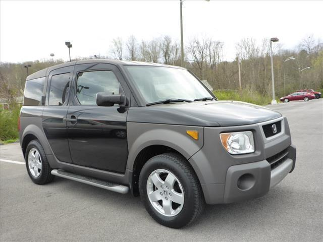 2004 HONDA ELEMENT EX AWD 4DR SUV black abs brakes 4-wheelair conditioning - frontairbags - f