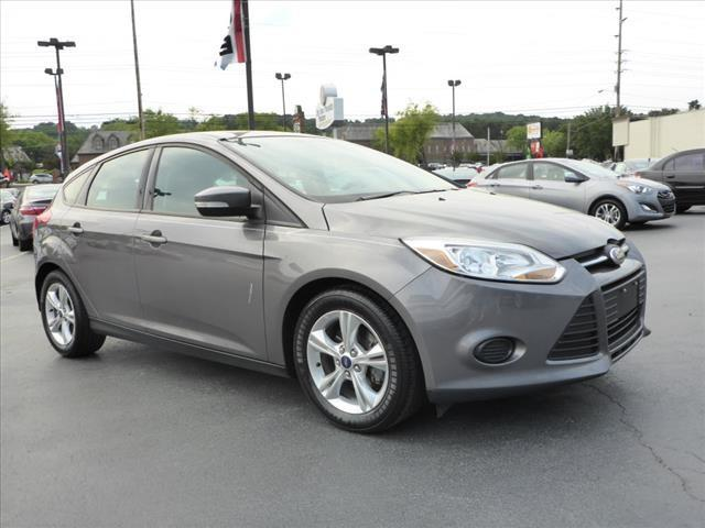 2013 FORD FOCUS SE 4DR HATCHBACK gray impact sensor post-collision safety systemstability contro