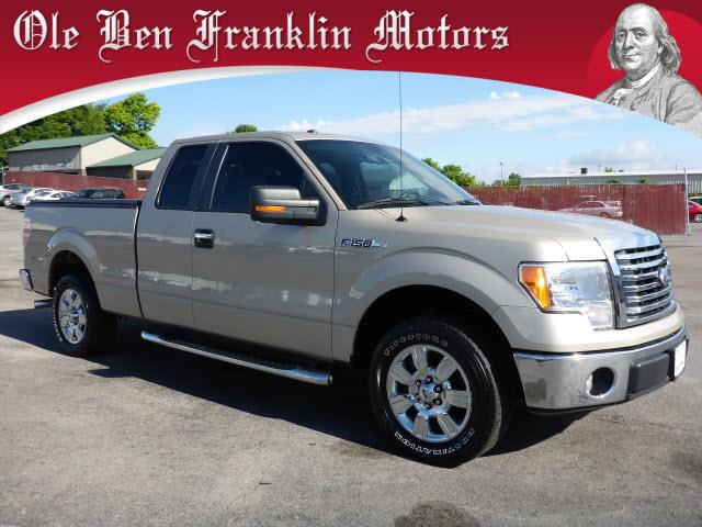 2010 FORD F-150 XLT 4X2 4DR SUPERCAB STYLESIDE 6 gold impact sensor post-collision safety system