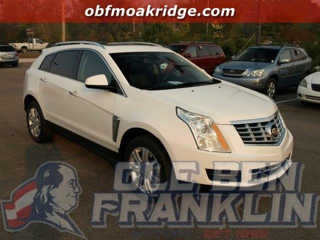 2013 CADILLAC SRX LUXURY COLLECTION 4DR SUV platinum ice tricoat delivers 24 highway mpg and 17 c