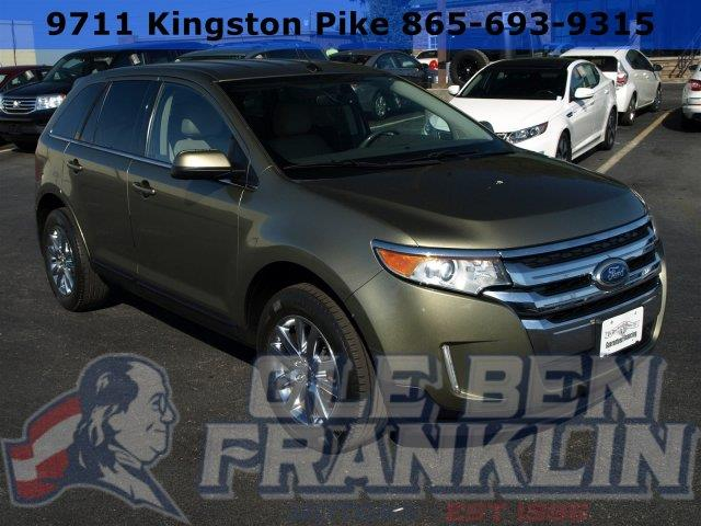 2013 FORD EDGE LIMITED AWD 4DR SUV ginger ale metallic scores 25 highway mpg and 18 city mpg thi