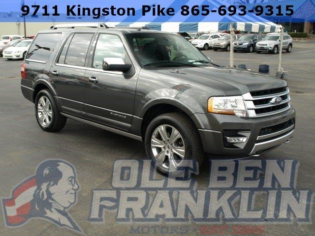 2015 FORD EXPEDITION PLATINUM 4X4 4DR SUV gray scores 20 highway mpg and 15 city mpg this ford e