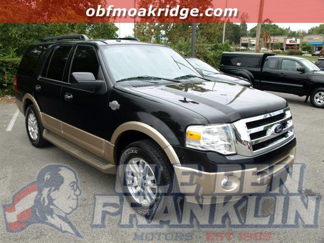 2012 FORD EXPEDITION KING RANCH 4X4 4DR SUV black delivers 18 highway mpg and 13 city mpg this f