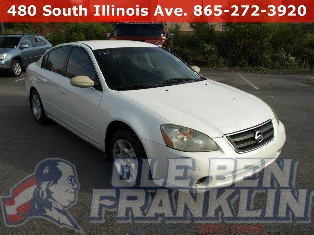 2003 NISSAN ALTIMA S satin white pearl scores 29 highway mpg and 23 city mpg this nissan altima