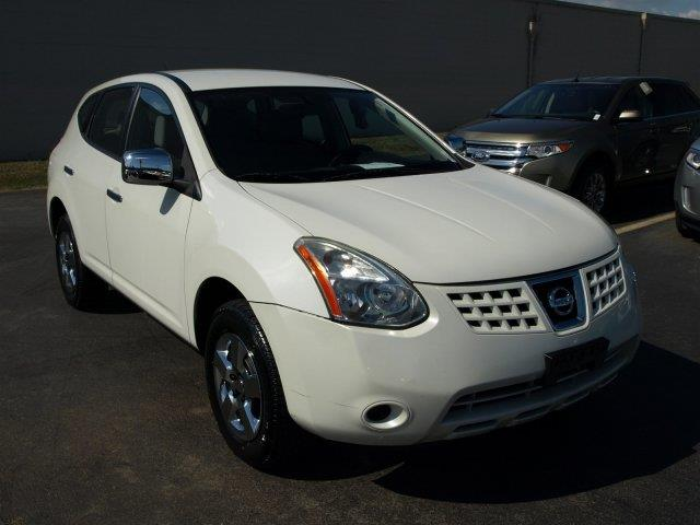 2010 NISSAN ROGUE S 4DR CROSSOVER white delivers 27 highway mpg and 22 city mpg this nissan rogu