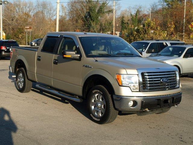 2010 FORD F-150 gold scores 18 highway mpg and 14 city mpg this ford f-150 delivers a gasethano
