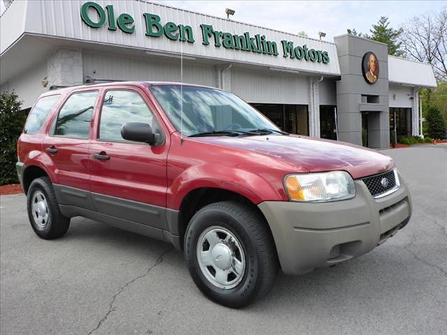 2003 FORD ESCAPE XLS POPULAR 4DR SUV red great dependable transportation low miles  v-6  c