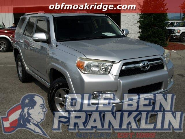 2010 TOYOTA 4RUNNER TRAIL 4X4 4DR SUV 40L V6 classic silver metallic boasts 22 highway mpg and
