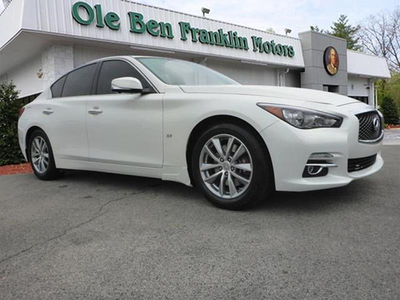 2014 infiniti q50 for sale in tennessee for Ben franklin motors knoxville tn