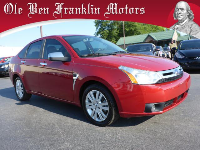 2009 FORD FOCUS SEL 4DR SEDAN red security anti-theft alarm systemstability controlair conditio