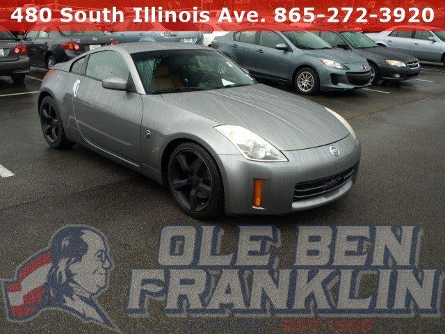 2006 NISSAN 350Z TOURING 2DR COUPE 35L V6 5A silver delivers 25 highway mpg and 19 city mpg t