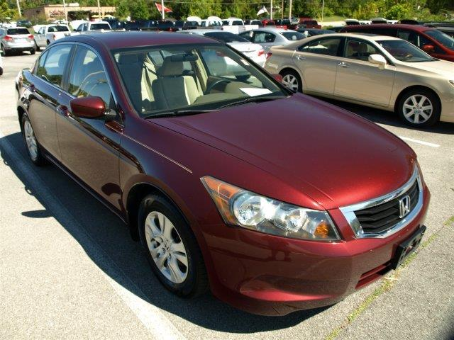 2008 HONDA ACCORD LX-P 4DR SEDAN 5M burgundy boasts 31 highway mpg and 22 city mpg this honda ac