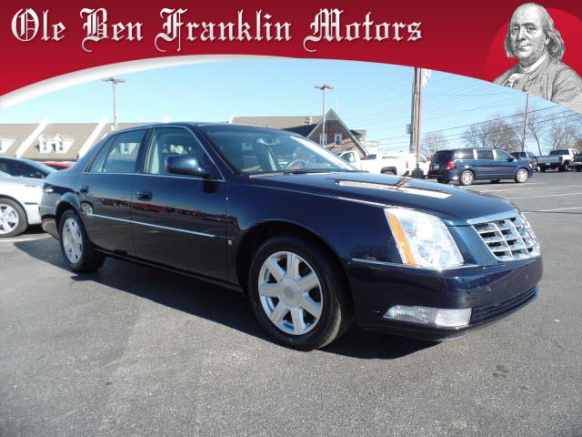 2007 CADILLAC DTS dk blue security remote anti-theft alarm systemabs brakes 4-wheelair condi
