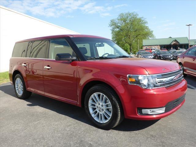 2015 FORD FLEX SEL 4DR CROSSOVER red parking sensors rearimpact sensor post-collision safety sys
