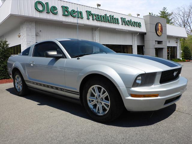 2008 FORD MUSTANG V6 DELUXE 2DR COUPE silver airbags - front - dualair conditioning - front - si