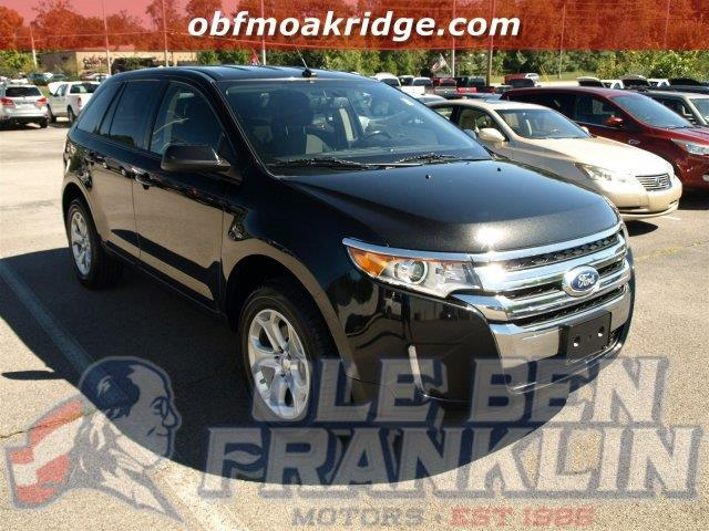 2013 FORD EDGE SEL AWD 4DR SUV black boasts 25 highway mpg and 18 city mpg this ford edge delive