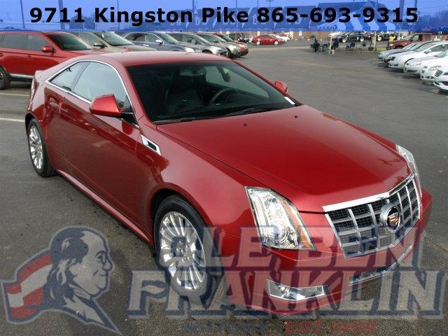 2012 CADILLAC CTS 36L PERFORMANCE 2DR COUPE crystal red tintcoat only 16744 miles delivers 27