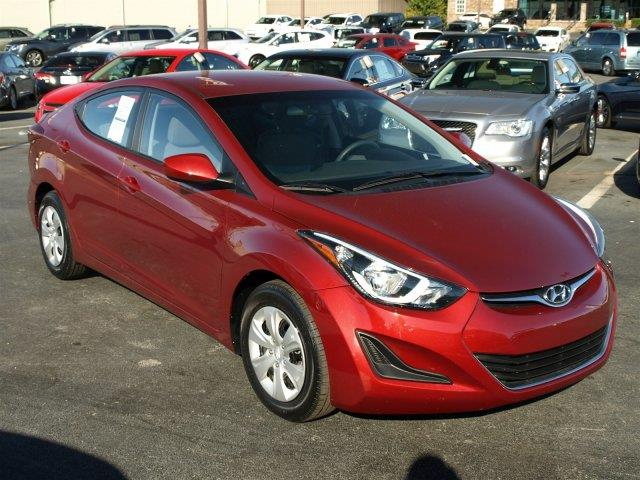 2016 HYUNDAI ELANTRA LIMITED venetian red only 10886 miles scores 37 highway mpg and 27 city mp