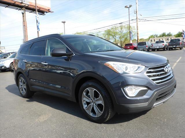 2015 HYUNDAI SANTA FE GLS 4DR SUV gray crumple zones frontcrumple zones rearsecurity remote ant