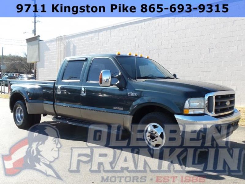 Ford f 350 super duty for sale in knoxville tn for Ole ben franklin motors knoxville